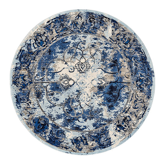 Weave And Wander Carini Tacoma Round Indoor Rugs