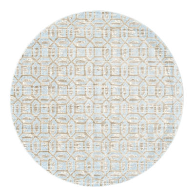 Weave And Wander Carini Gala Round Indoor Rugs
