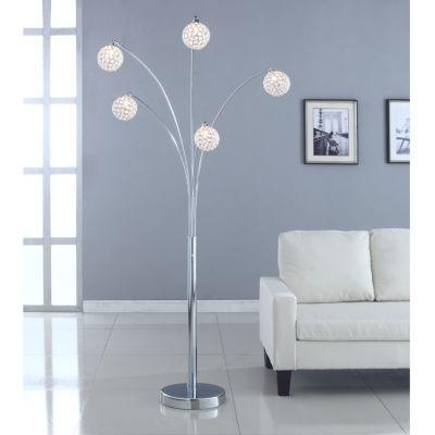 Tenbury Wells Crystal Floor Lamp