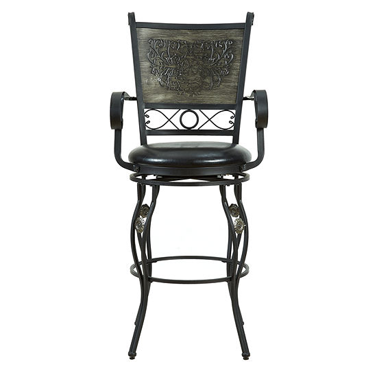 Ellie Big & Tall Upholstered Barstool
