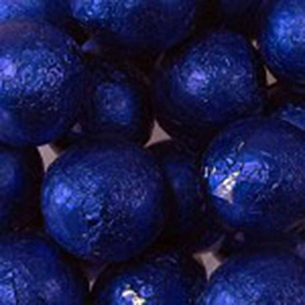 Foiled Solid Milk Royal Blue Balls 1lb