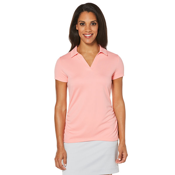 Easy Care Short Sleeve Mesh Polo Shirt PGA TOUR Sale Really 1f93JVHSy
