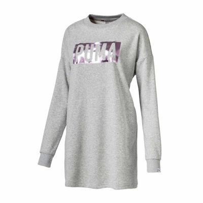 Puma Logo Sweatshirt Dress
