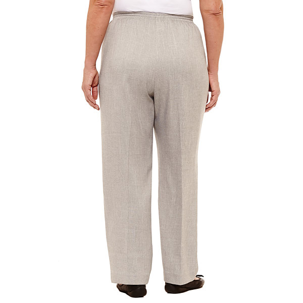Alfred Dunner Lakeshore Drive Classic Pant- Plus