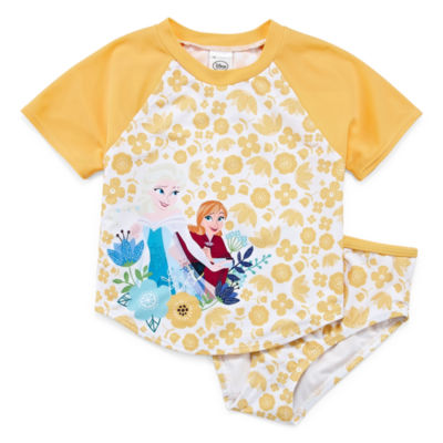 Disney Girls Frozen Tankini Set