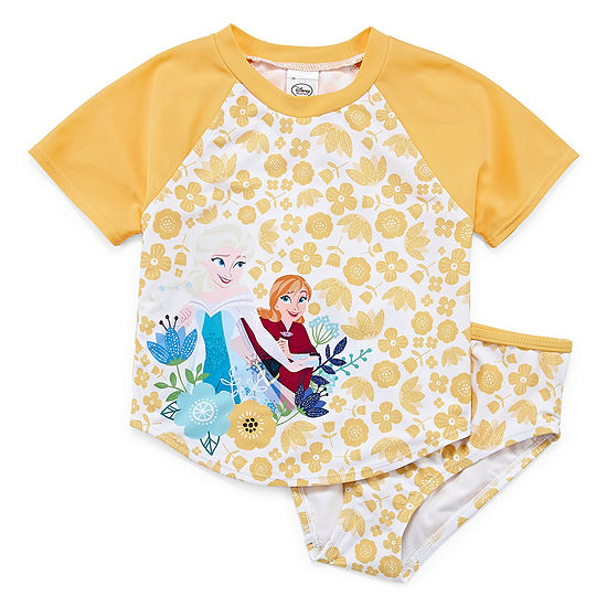 Disney Girls Frozen Tankini Set Preschool / Big Kid