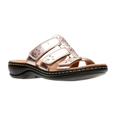 Clarks Womens Leisa Spring Slide Sandals