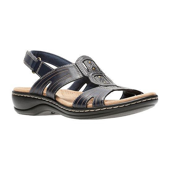 Clarks Womens Leisa Vine Strap Sandals