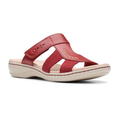 Clarks Womens Leisa Emily Slide Sandals