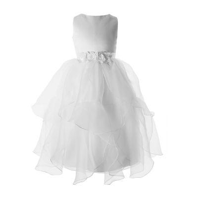 Keepsake First Communion Embellished Sleeveless Fit & Flare Dress - Big Kid Girls