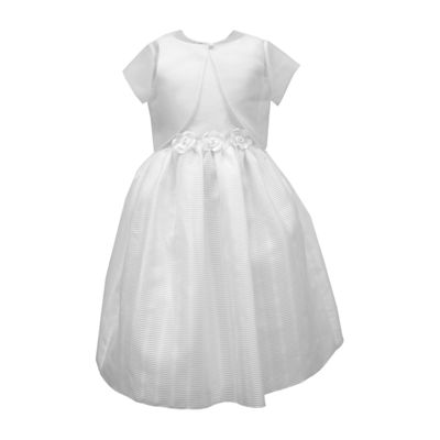 Keepsake First Communion 2-pc. Jacket Dress Big Kid Girls