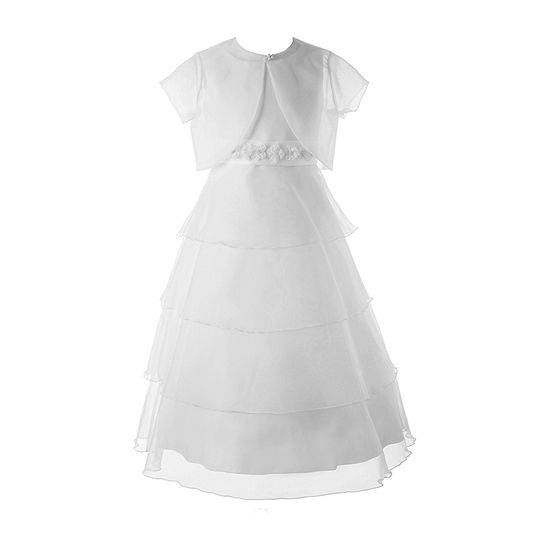 Keepsake First Communion Girls 2-pc. Jacket Dress - Big Kid
