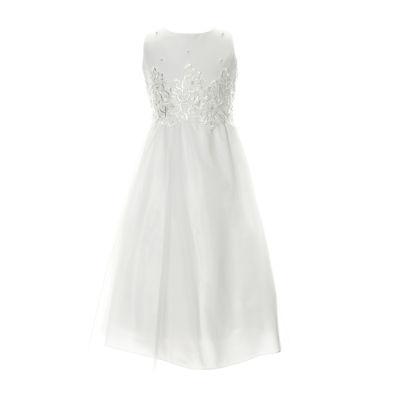 Keepsake First Communion Sleeveless A-Line Dress - Big Kid Girls