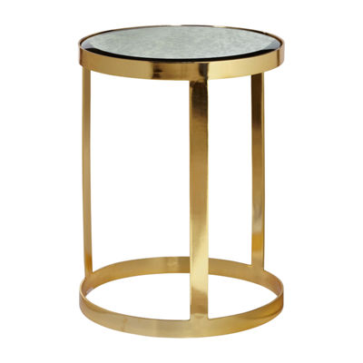 Sandra Gold Accent Table