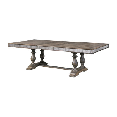 Montserrat Wood-Top Dining Table