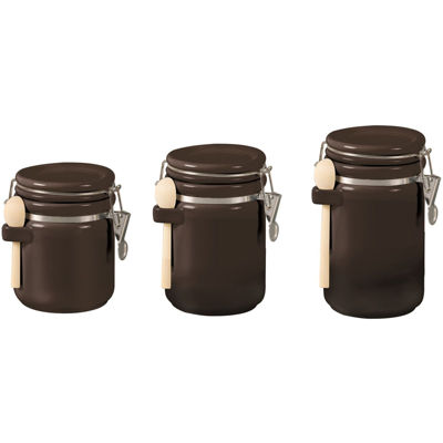 3-Piece Ceramic Canister Set