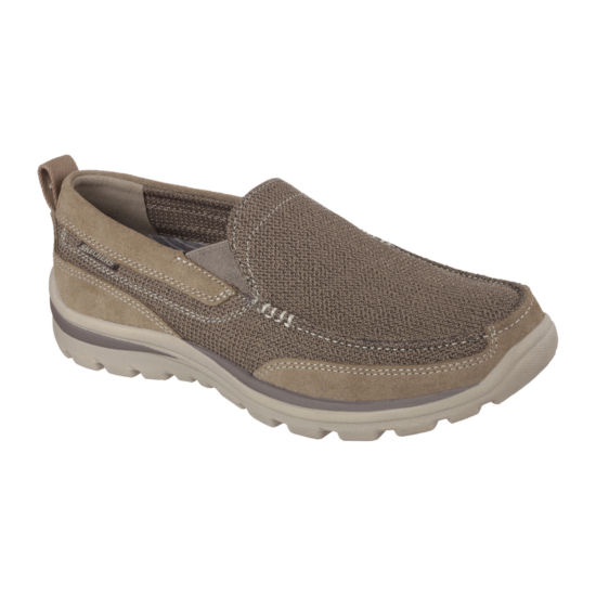 Skechers® Milford Men's Moc-Toe Slip-On Shoes