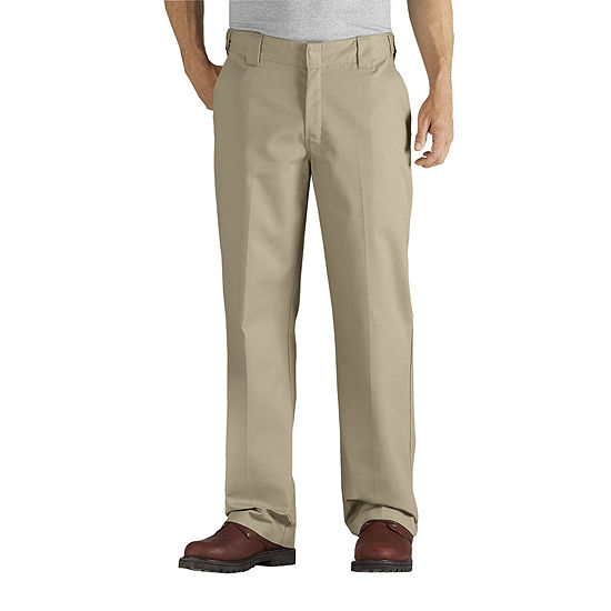 Dickies® Flex Relaxed Fit Straight Leg Twill Comfort Waist Pants