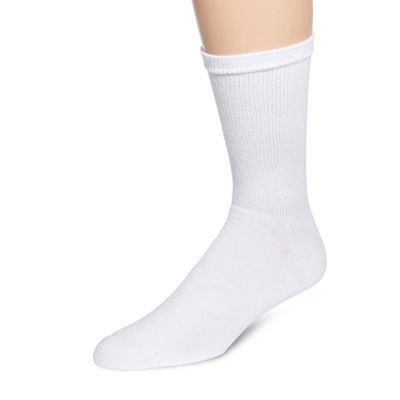 Hanes® Mens 6-Pk. Comfortblend® Full Cushion Crew Socks + Bonus Pair