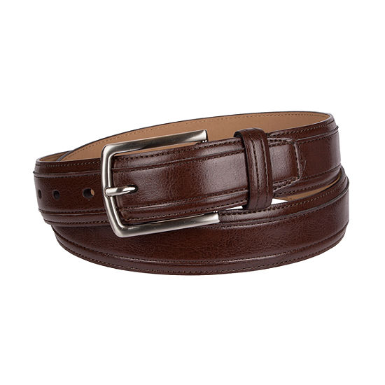 Dockers® Casual Men's Belt with Center-Overlay Stitch