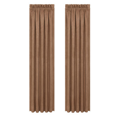 Queen Street Montclair 2 Pair Rod-Pocket Curtain Panels