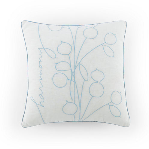 Kathy Davis Tranquility Square Throw Pillow
