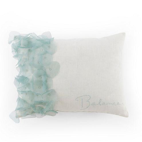 Kathy Davis Tranquility Rectangular Throw Pillow
