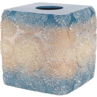 Popular Bath Fallon Tissue Box Cover