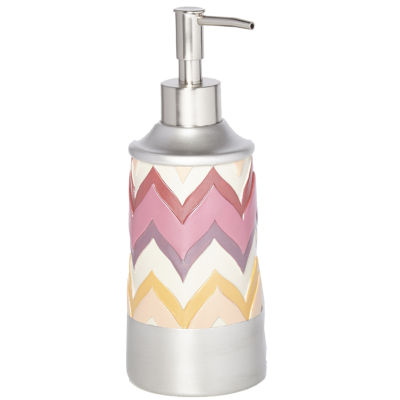 Popular Bath Flame Stitch Soap Dispenser