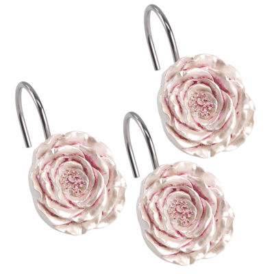Popular Bath Secret Garden Shower Curtain Hooks