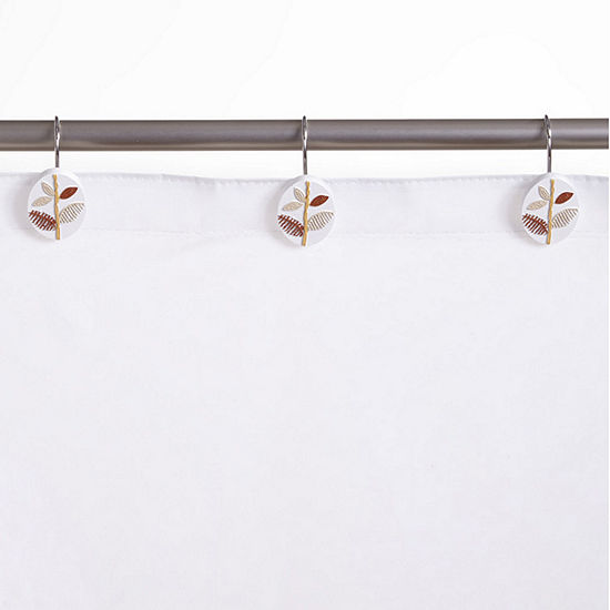 Popular Bath Alysia Shower Curtain Hooks