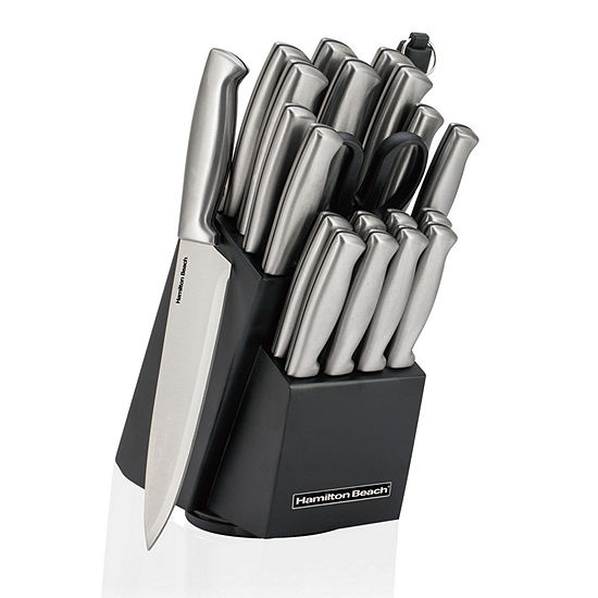 Hamilton Beach 22-pc. Knife Block Set