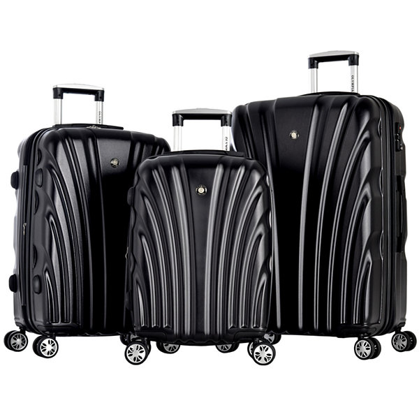 Vortex 3PC Hardside Luggage Set