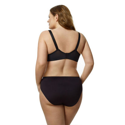 Elila Microfiber Molded Softcup Full Coverage Bra