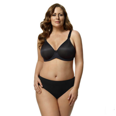 Elila Microfiber Molded Underwire Full Coverage Bra