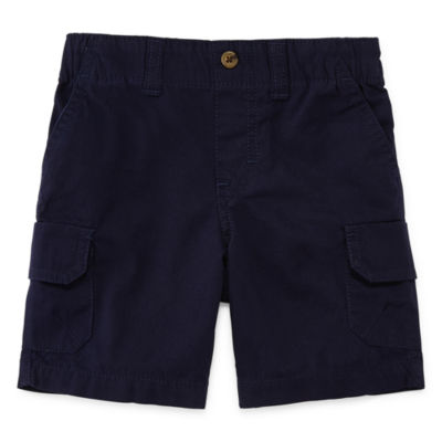 Okie Dokie Twill Cargo Shorts-Toddler Boys