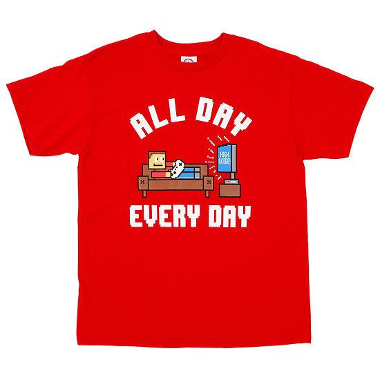 Short Sleeve Crew Neck T-Shirt Boys