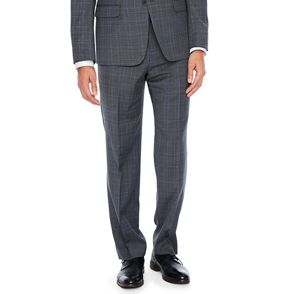 Collection by Michael Strahan  Plaid Classic Fit Stretch Suit Jacket