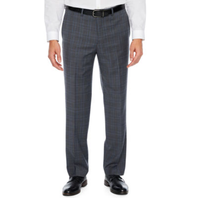 Collection by Michael Strahan  Mens Plaid Stretch Classic Fit Suit Pants