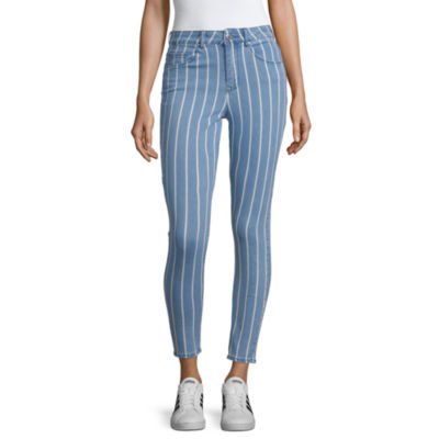 Almost Famous Womens High Waisted Skinny Cropped Jean   Juniors by Almost Famous