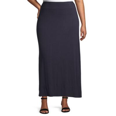 Liz Claiborne Maxi Skirt - Plus