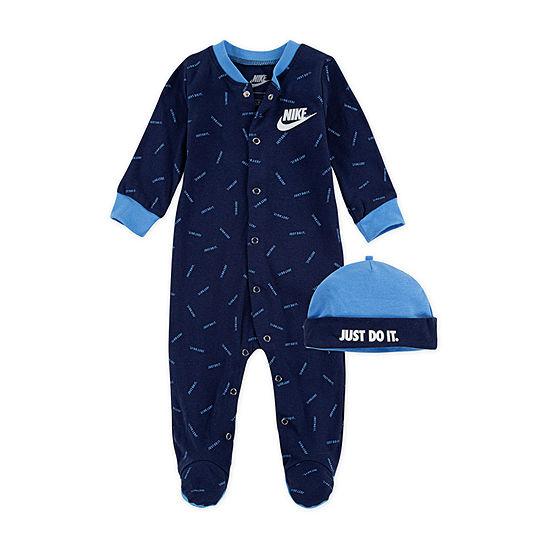 Nike Football Baby Boys 2-pc. Sleep and Play