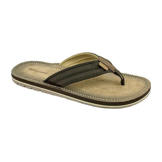 Dockers® Microfiber Footbed Flip-Flops