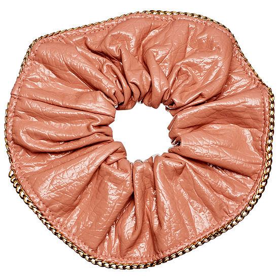 Kitsch Kitsch x Justine Marjan Patent Scrunchie with Chain