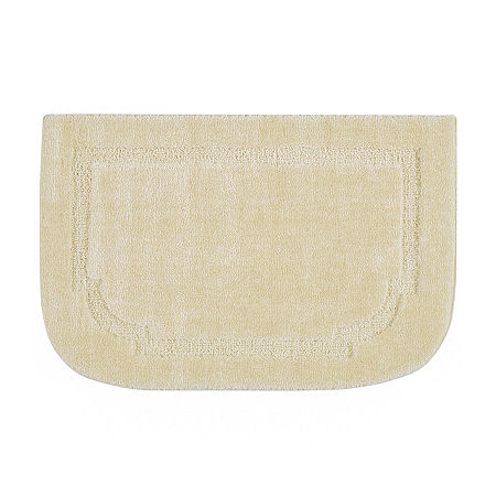 JCPenney Home Imperial Washable Wedge Rug, One Size , White