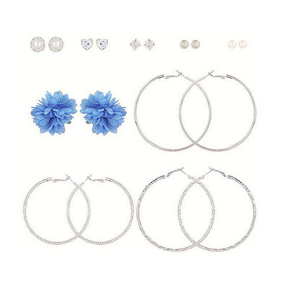 Arizona 9 Pair Earring Set