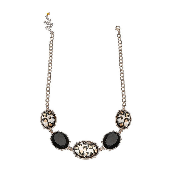Mixit Animal Cabochon Beaded Necklace