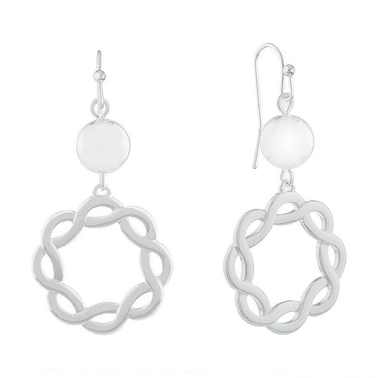 Liz Claiborne Suneshine State Drop Earrings