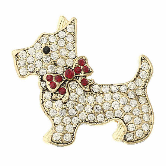 Monet Jewelry Scotty Dog Pin