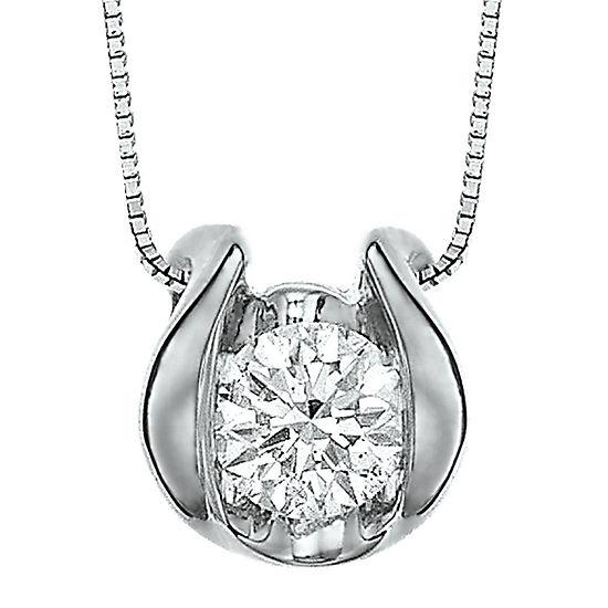Sirena™ ¼ CT. Diamond Solitaire Pendant Necklace